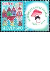 Vianočná pošta 2013 - Slovensko č. 550