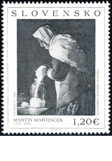 UMENIE: Martin Martinček (1913 – 2004) - Slovensko č. 553