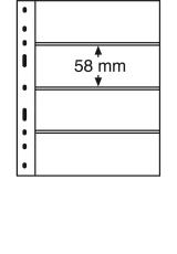 OPTIMA listy na známky - 4 S - 331 859