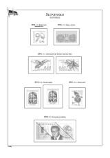 Albové listy POMfila SR - ročník 2014, A4, papír 160 g, zákl. verze - (6), vč. zesílených obalů