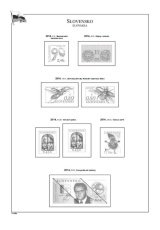 Albové listy POMfila SR - ročník 2014, A4, papír 160 g, rozšířená verze - (22), vč. zesílených obalů