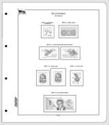 Albové listy CONTOUR-S  Slovensko 2014, nezasklené (22 listů), papír 250gr.