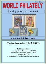 Katalog poštovních známek - Československo (1945-1992) - World Philately 2016  na CD-ROM médiu