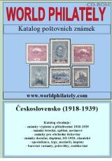 Katalog poštovních známek - Československo - (1918-1939) - World Philately 2016 na CD-ROM médiu