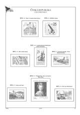 Albové listy A4 POMfila ČR - ročník 2015, rozšířená verze - (36 listů), vč. zesílených obalů, papír 160gr.