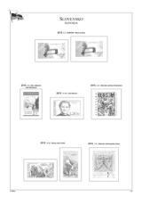 Albové listy POMfila SR - ročník 2015, A4, papír 160 g, zákl. verze - (5), bez obalů