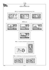 Albové listy A4 POMfila Velká Británie 1952-1970, (34 listů), vč. zesílených obalů, papír 160gr.