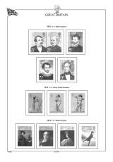 Albové listy A4 POMfila Velká Británie 1971-1989, (64 listů), vč. zesílených obalů, papír 160gr.