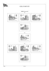 Albové listy A4 POMfila Velká Británie 1990-1999, (63 listů), vč. zesílených obalů, papír 160gr.