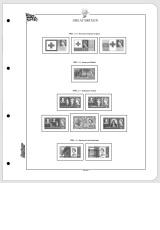 Albové listy CONTOUR-S  Velká Británie 1952-1970, nezasklené (34 listů), papír 250gr.