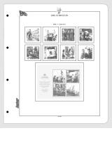 Albové listy CONTOUR-S  Velká Británie 2010-2012, nezasklené (69 listů), papír 250gr.