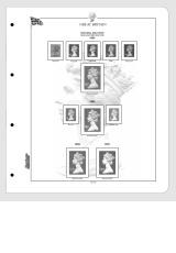 Albové listy CONTOUR-S  Velká Británie - Machins 1967-2014, nezasklené (21 listů), papír 250gr.