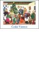 Josef Lada - Vánoce - pohlednice - U vánočního stromku 1955