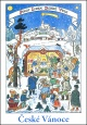 Josef Lada - Vánoce - pohlednice - Betlém 1938