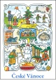 Josef Lada - Vánoce - pohlednice - Zima 1947