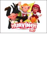 Hurvínek, Spejbl a Mánička ve filmu 3D - pohlednice - postcrossing