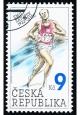 Emil Zátopek - razítkovaná - č. 332