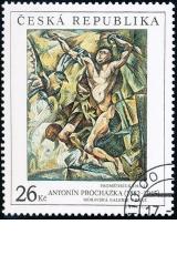 Evropská výstava Brno 2005 - Antonín Procházka - Prométheus - razítkovaná - č. 392
