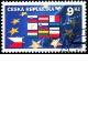 Deset nových členských zemí Evropské unie - razítkovaná - č. 395