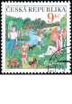 EUROPA - prázdniny - razítkovaná - č. 396