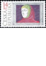 Francesco Petrarca (1304 - 1374) - 700. výročí narození - razítkovaná - č. 404