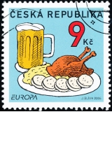 Europa - Gastronomie - č. 436 - razítkovaná