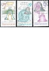 Památky uměleckého řemesla - zvony - č. 444-446 - razítkovaná