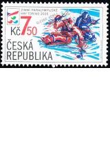 Zimní paralympiáda Turín 2006 - č. 461 - razítkovaná