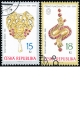 Umělecká řemesla - drahokamy, šperky a puncovnictví - č. 482-483 - razítkovaná