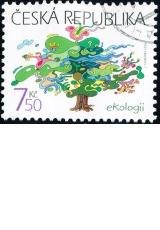 Ekologie - č. 489 - razítkovaná