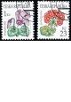 Krása květů - č. 516-517 - razítkovaná