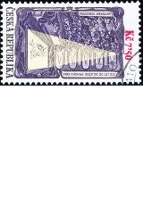 100 let od založení prvního kina Viktorem Ponrepem - č. 524 - razítkovaná