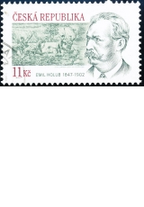 160. výročí narození cestovatele Emila Holuba - č. 530 - razítkovaná