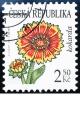 Krása květů - kokarda - č. 537 - razítkovaná