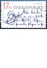 EUROPA - psaní dopisů - č. 560 - razítkovaná