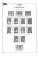 Albové listy A4 POMfila Španělsko – 1850-1939 - nezasklené (74 listů), vč.zesílených obalů, papír 160gr.