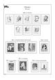 Albové listy A4 POMfila Polsko - 1940-1960 - nezasklené (85 listů), vč.zesílených obalů, papír 160gr.