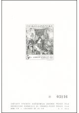 1968, Světová výstava poštovních známek PRAGA 68, PT 4