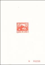 1968, A. Mucha - Hradčany, PT 5B - číslovaný