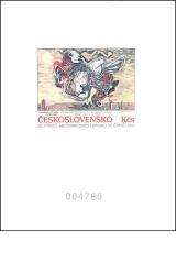 1988, Světová výstava poštovních známek PRAGA 88, PT 21