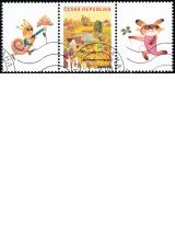 Letní den - spojka S2 - razítkovaná poštovní známka - č. 573