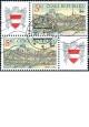 Brno 2000 - kupon levý a pravý - razítkovaný - č. 244