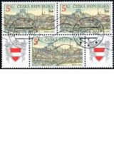 Brno 2000 - spojka - razítkovaný - č. 244