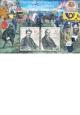 Historie poštovnictví na našem území - aršík - č. 955-956 - za nominál