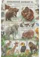 Ochrana přírody - Zoologické zahrady III. - aršík - č. A991 - za nominál