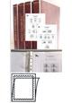 Albové listy A4, ČR 1993-2017, rozšířená verze - 9x desky, 9x archivní box, vč. zesílených obalů - zasklené, p