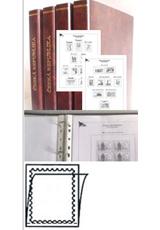Albové listy A4, ČR 1993-2020, rozšíř.verze - 10x desky, 10x archivní box, vč. zesílených obalů - zasklené, pa