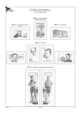 Albové listy A4 POMfila ČR - r. 2019, zákl. verze - (11 listů), bez euroobalů, nezasklené, papír 160gr.