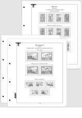 Albové listy CONTOUR-S - Německé zahraniční legie 1941-1945 - nezasklené, (42 listů), papír 250gr.