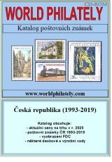 Katalog poštovních známek - Česká republika (1993-2019) - World Philately 2020  na CD-ROM médiu